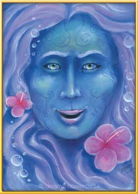 Luari is a Spirit Guide to a Kahuna healer, and she is one with the ocean granting healing to all in need - completed 22 October 2016
